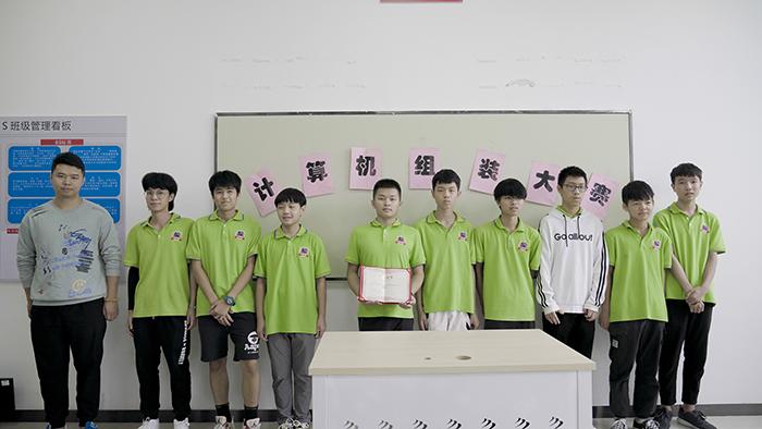 广州新华DIY计算机组装大赛